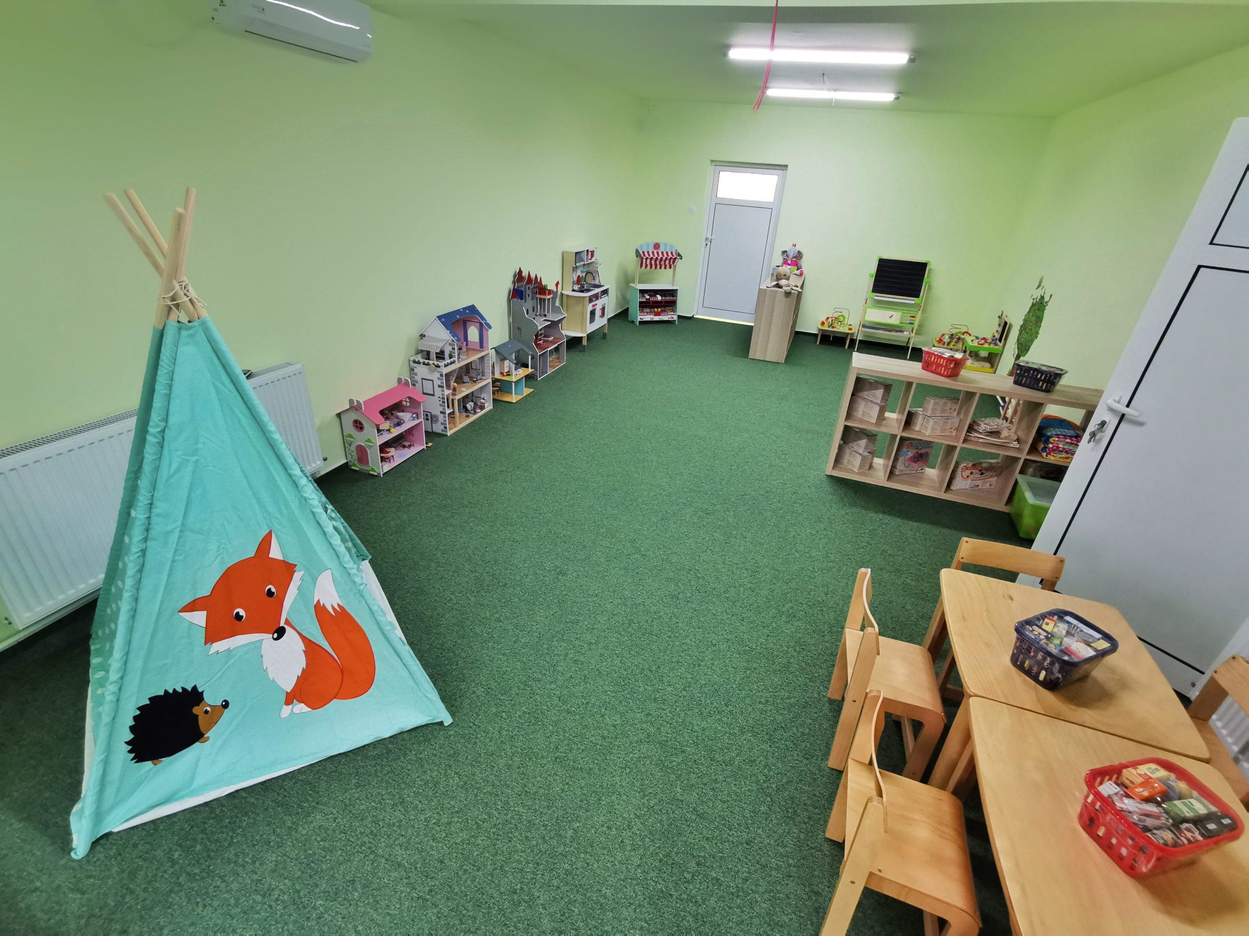 Centru Educațional Grădiniță Sala Joc Rol Teatru