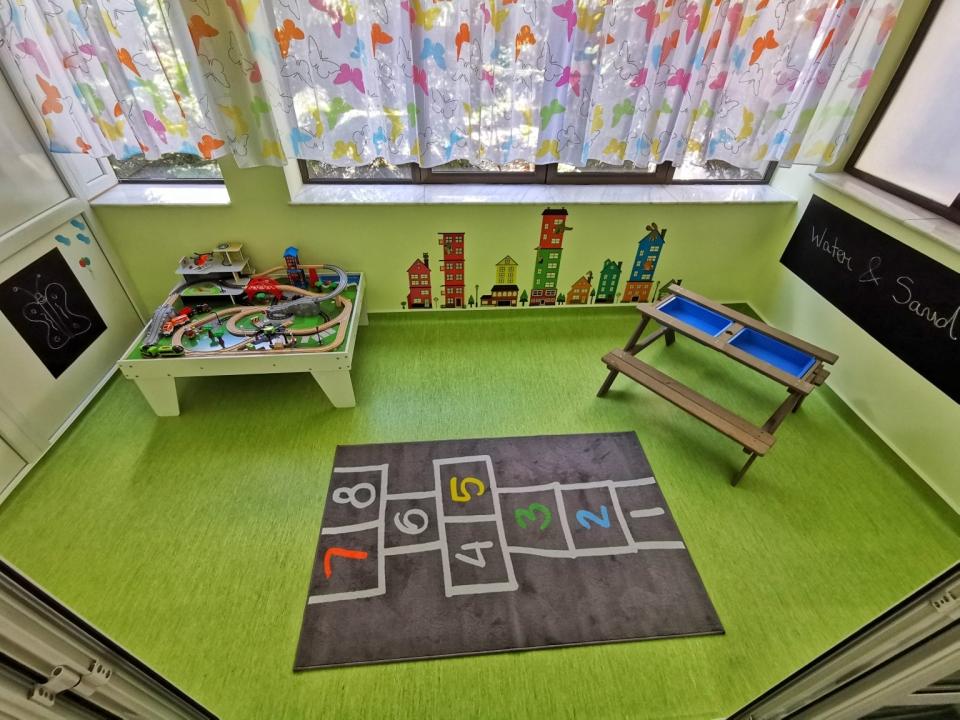 Centru Educațional Grădiniță Sala Nisip Apă Copii