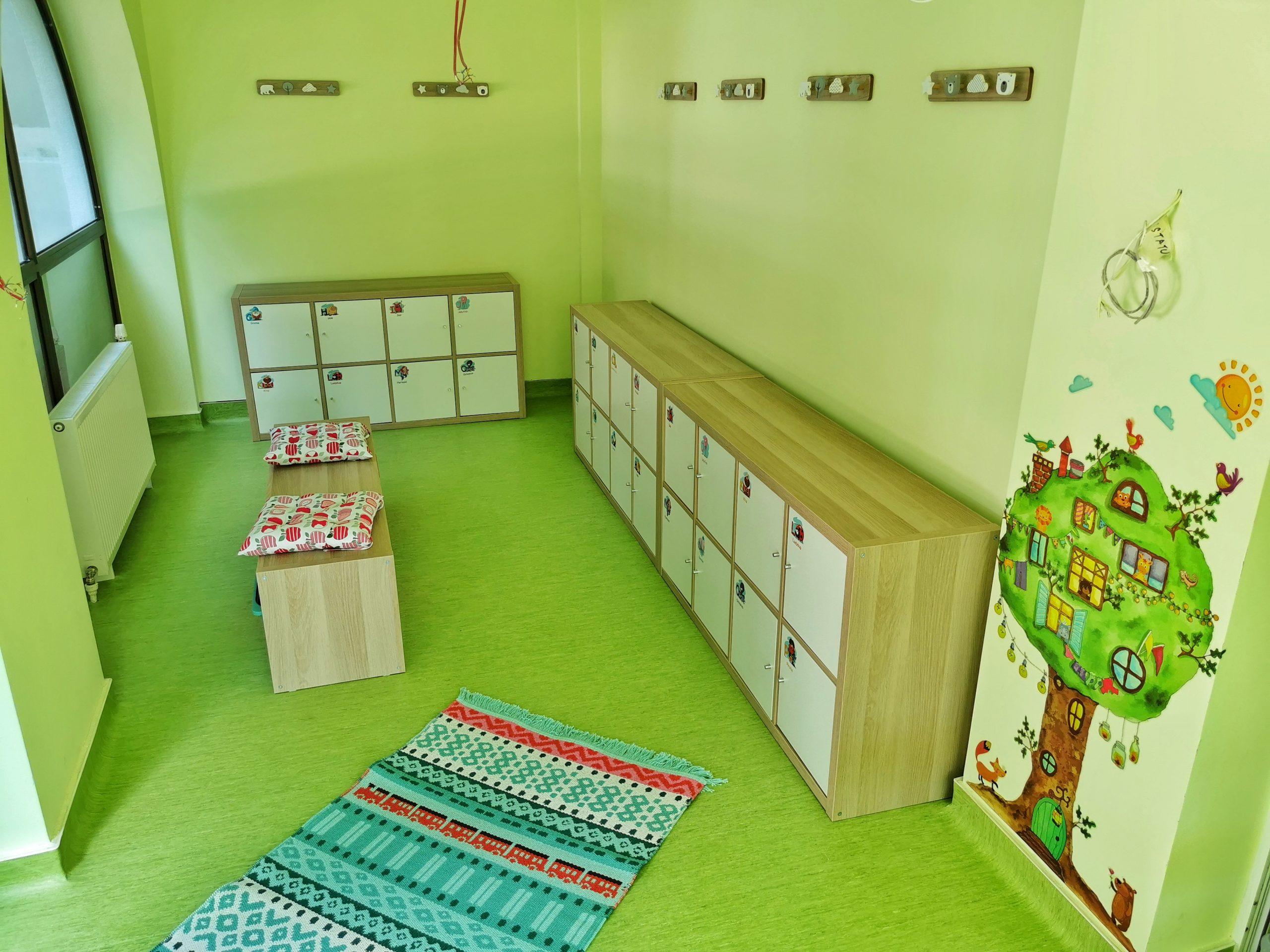 Centru Educațional Grădiniță Vestiar Copii