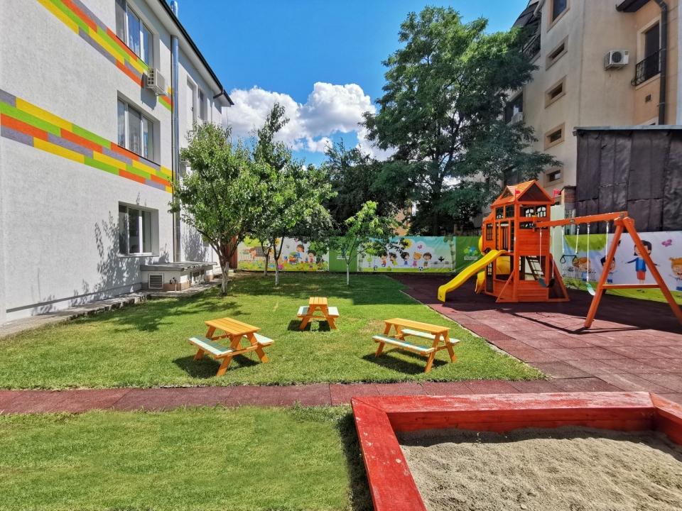 Centru Educațional Grădiniță Exterior Loc de joacă Copii